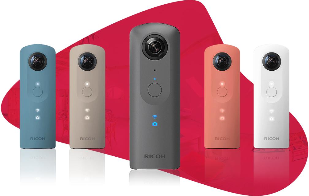 Rabat Ricoh kamera 360